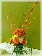 Flaming Love - Flower Arrangement