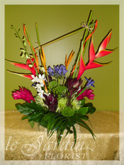 Tropical Asymmetry :: Le Jardin Signature Flower Arrangement
