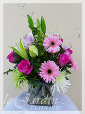 Colors of Love - Cube Flower Arrangement