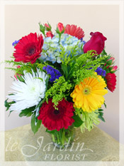 Happy Colors Floral Arrangement