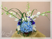 Blue Hawaiian :: Flower Arrangement