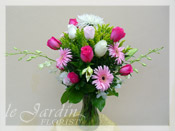 Shades of Pink :: Flower Arrangement
