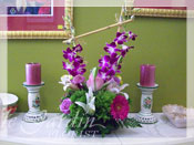 Orchid Sunrise I Flower Arrangement