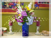 French Vase I Flower Arrangement