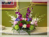 Ultimate Orchid Sunrise Flower Arrangement