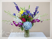 French Vase II Flower Arrangement