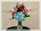 French Vase III Flower Arrangement
