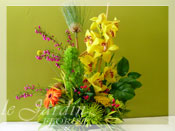 Tropical Sunshine Flower Arrangement