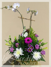 Orchids & Fresh Flowers :: a Signature Floral Arrangement