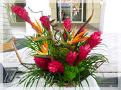 Tropical Wonder :: Le Jardin Signature Flower Arrangement