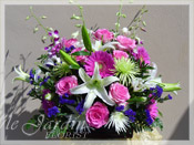 Pink Treasure :: Le Jardin Signature Flower Arrangement